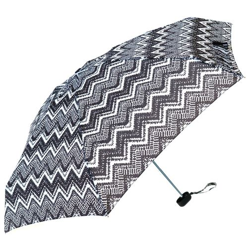 Monochrome Ladies Mini Compact Umbrella