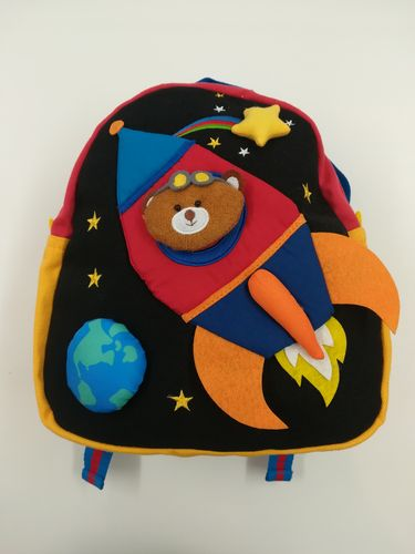 Backpack for Children, Children's Rucksack - Rocket