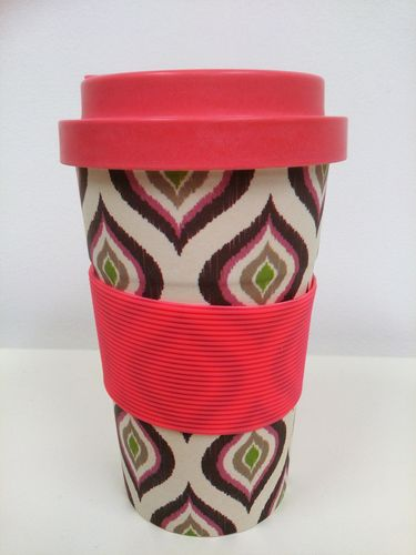 Eco-friendly reausable coffee cup - Pink