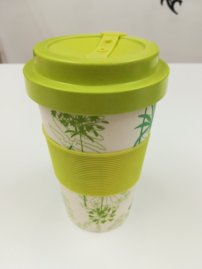 Eco-friendly Reusable Coffee Cup - Lime Green