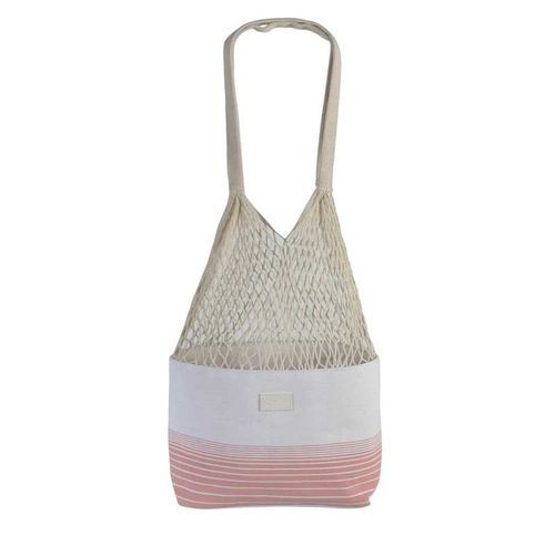 String Bag - Net Bag - Coral