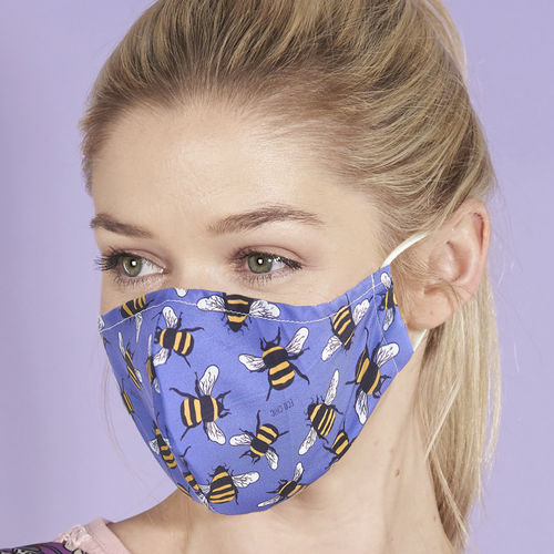 Reusable Face Mask Bees