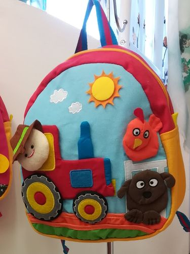 Kids Backpack, Rucksack for Children - Tractor