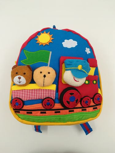Kids Backpack, Rucksack for Children - Train