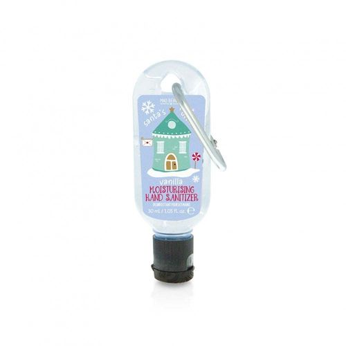 Clip On Hand Sanitizer - Santa's Office