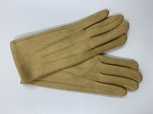 Yellow Winter Gloves For Women