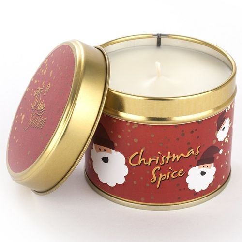 Christmas Spice Candle - Large Tin
