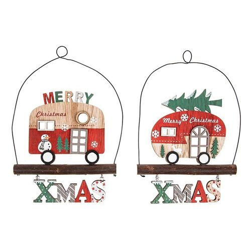 Wooden Christmas Decorations, Christmas Caravan